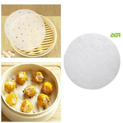 Air Fryer Liners Non Stick Parchment Papers Bamboo Steamer L