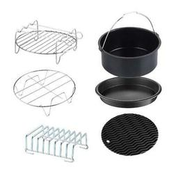 XL Air Fryer Accessories, 6pcs for GoWISE USA, Phillips, Pow