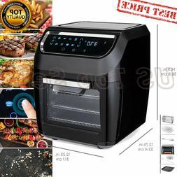 Air Fryer Oven 11.6qt 8-in-1 XL Multifunctional Rotisserie D