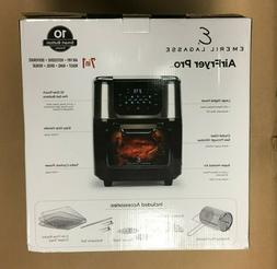 Emeril Lagasse Power Air Fryer Pro Oven & Accessories 6QT Bl