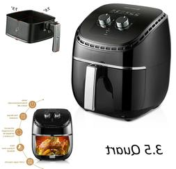 Air Fryer With Accessories 3.5QT Large Capacity Oil-Less Mul