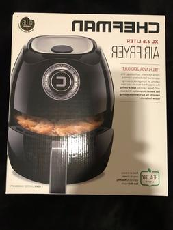 Chefman Air Fryer XL 3.5 Liter Black FREE SHIPPING BRAND NEW