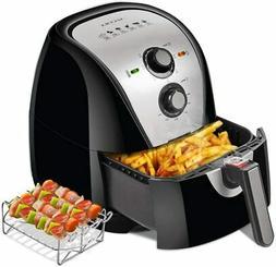 Secura Air Fryer XL 5.3 Quart 1700-Watt Electric Hot Air Fry