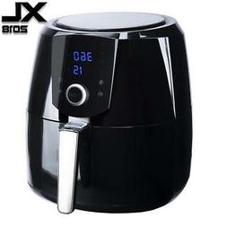 Air Fryer XL 8-in-1 By B. WEISS,  Family Size Huge capacity,