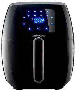 Air Fryer XL Touchscreen by Cozyna  with 8 Cooking Preset an