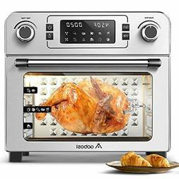 Toaster Convection Air Fryer Digital Countertop Rotisserie O
