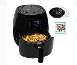 Avalon Bay Digital Display Stainless Steel Healthy Air Fryer