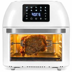 BCP 16.9qt 1800W 10-in-1 XXXL Air Fryer Countertop Oven, Rot