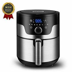 Besile Air Fryer 3.7 Quart,1500-Watts Stainless Steel Hot Ai
