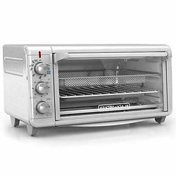 Black & Decker - 8-Slice Air Fryer Toaster Oven - Stainless