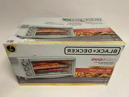 Black & Decker 8 Slice Stainless Steel Toaster Oven & Air Fr