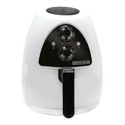 Black & Decker Purify 2-Liter Air Fryer, White/Black, HF100W