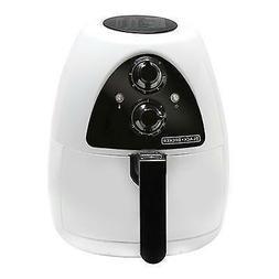 Black & Decker Purify 2-Liter Air Fryer, Black/Stainless Ste