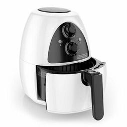 BLACK+DECKER Purifry 2-Liter Air Fryer, White, HF100WD