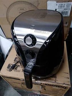 BLACK+DECKER Purify 2-Liter Air Fryer, Black/Stainless Steel