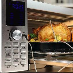 Nuwave Bravo XL 1800 Watt 4 Slice Stainless Steel Toaster Ov