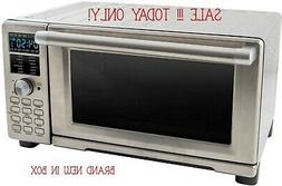 NuWave Bravo XL Air Fryer Convection Toaster Oven Oven As Se