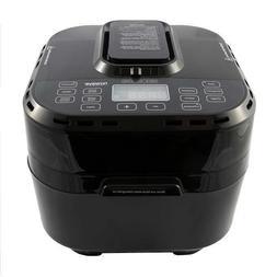 NuWave Brio 10 Qt Digital Air Fryer, Large 10 Qt Capacity, M