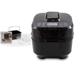 NuWave Brio 10 Quart Digital Air Fryer – Black with NuWave