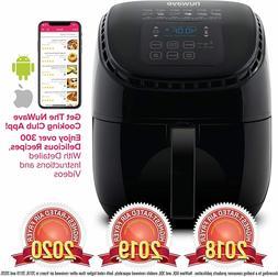 NUWAVE BRIO 3-Quart Digital Air Fryer cooking package one-to