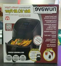 NuWave Brio 36001 3.5 Qt Digital Air Fryer - Black