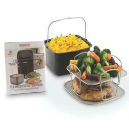 Nuwave Brio 6-Qt. Digital Air Fryer Gourmet Accessory Kit
