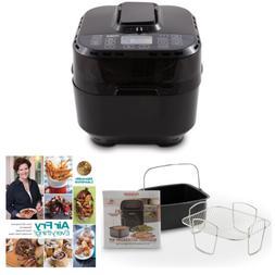 NuWave Brio Digital Air Fryer  with 2-piece Cooking Set + Co
