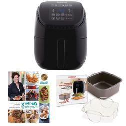 NuWave Brio Digital Air Fryer  w/ 2-piece Cooking Set 3qt +C