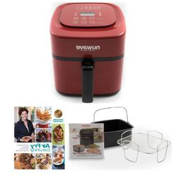 NuWave Brio Digital Air Fryer  with 2-piece Cooking Set and