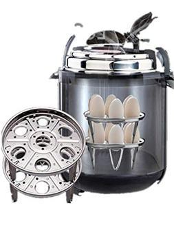 Clearance SFE 2-Pack Steamer Basket With Egg Steamer Rack Tr