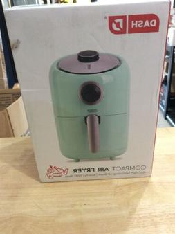 Compact Air Fryer 1.2 L Electric Oven Cooker with Aqua  Blue