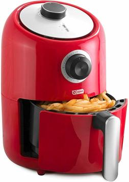 Compact Air Fryer -Dash 900W 1.2 L Color Red