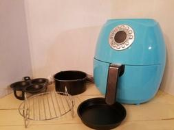 Cook's Essentials 3.4-qt Digital Air Fryer Presets  Turquois