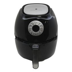 Cook's Essentials 3.4-qt Digital Electric Air Fryer - Black