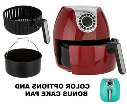 Cook's Essentials 5.3qt Digital Air Fryer w/ 10 Presets & Ca