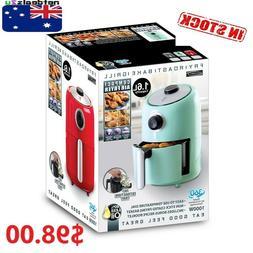 Innobella Cool Compact 1.6L Air Fryer In 3 Retro Colours Sle