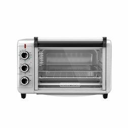 Crisp 'N Bake Air Fryer Toaster Oven 3-Knob Control Panel St