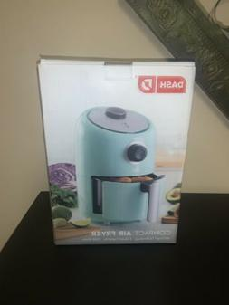 Dash D Compact Air Fryer 2 Quart New In Box  Color Aqua 1000