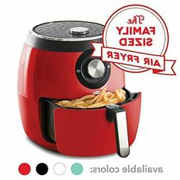 Dash Deluxe Electric Air Fryer Oven Cooker 6qt Non Stick Bas