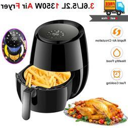 Digital Air Fryer Oil-Less W/ LCD Cooking Preset Temperature
