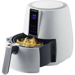 Digital Air Fryer Oil-Less White Small Kitchen Countertop Ap