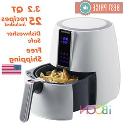 digital air fryer oven rotisserie toaster 3