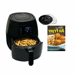 Avalon Bay Digital Display Stainless Steel Air Fryer w/ Fire