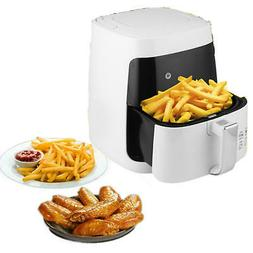 Digital Non-stick Electric Air Fryer 2.65QT/2.5L 1200W Smoke