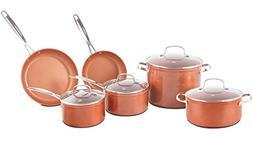 Nuwave Duralon Ceramic Non-Stick 10 pc. Cookware Set