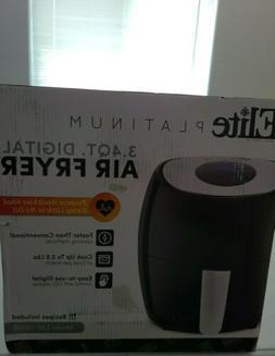 Elite Platinum EAF-1200D Digital Programmable Air Fryer, Tem