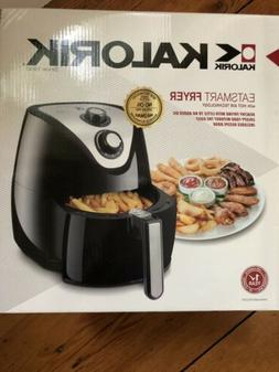 Kalorik Eat-Smart Black Stainless Steel 2.3-quart Air Fryer
