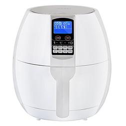 ZENY Electric Air Fryer 1500W 3.7QT Healthy Oil Free 8 Cooki