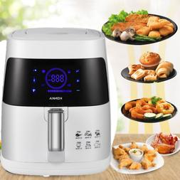 Electric Air Fryer 2.7 Qt 1200W Digital Timer Temp Control 8