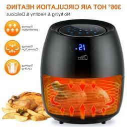 electric air fryer 6 qt 1700w digital